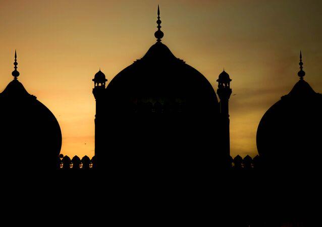 Una mezquita en Pakistán