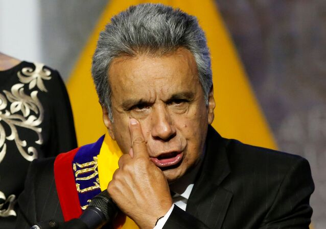 Lenín Moreno, presidente do Equador