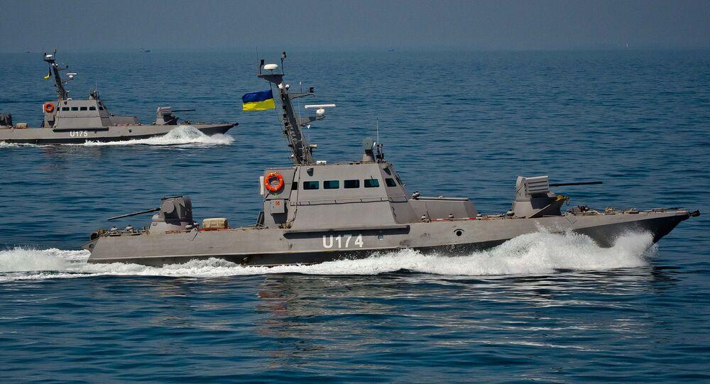 Lanchas Berdyansk e Akkerman do projeto Gyurza 58150 da Marinha da Ucrânia (foto de arquivo)
