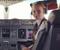 Maria Fedorova, a pilota mais nova da companhia aérea russa Aeroflot