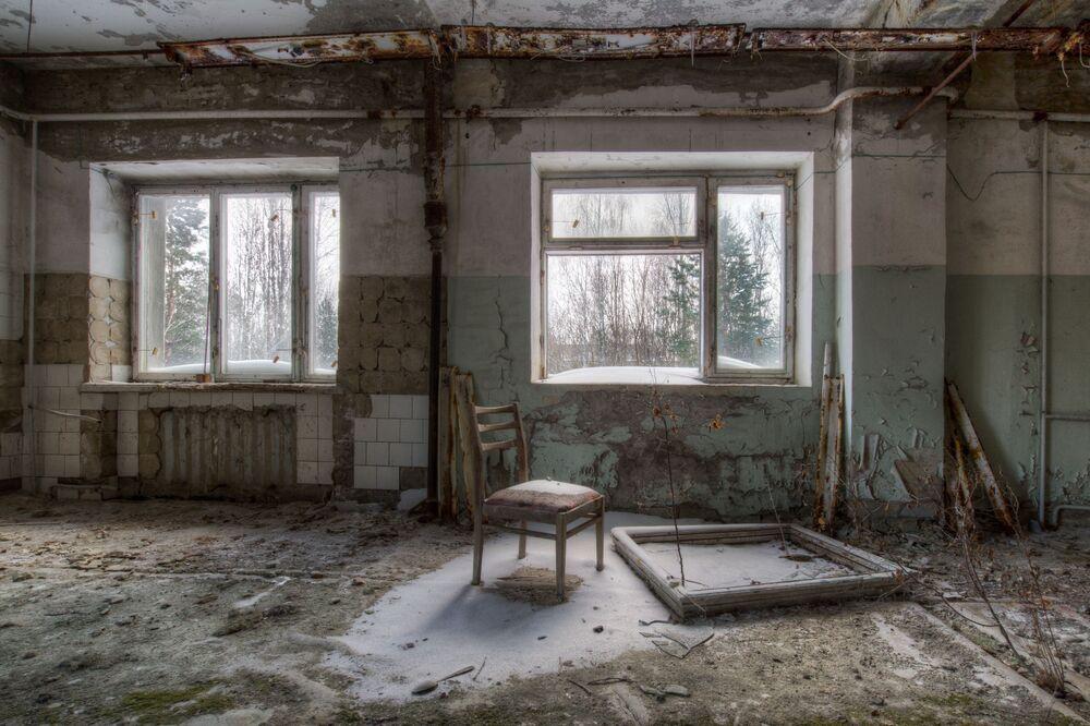 Objeto em Pripyat, imagem de Dave Searl