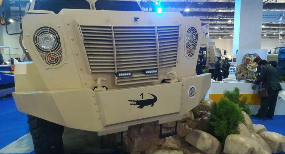 Veículo blindado egípcio Temsah, apresentado da Feira Internacional de Defesa EDEX 2018