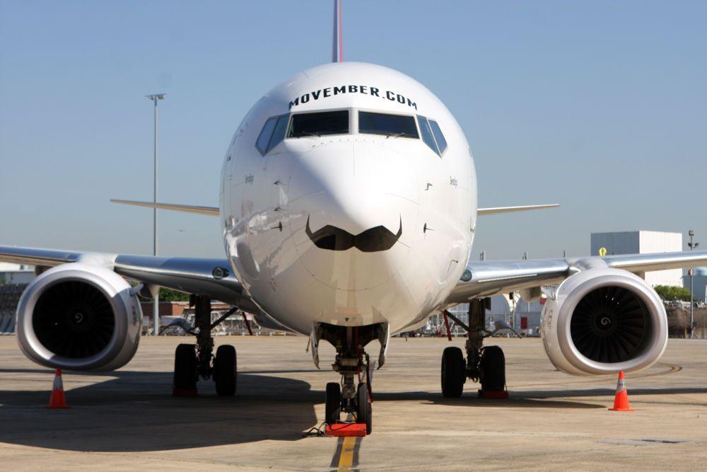 E esse bigodinho? A equipe australiana de rúgbi optou por uma decoração um tanto charmosa