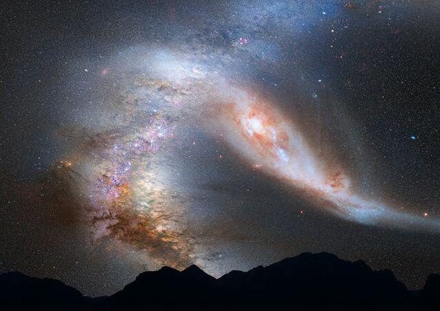 Galáxia (imagem de arquivo)