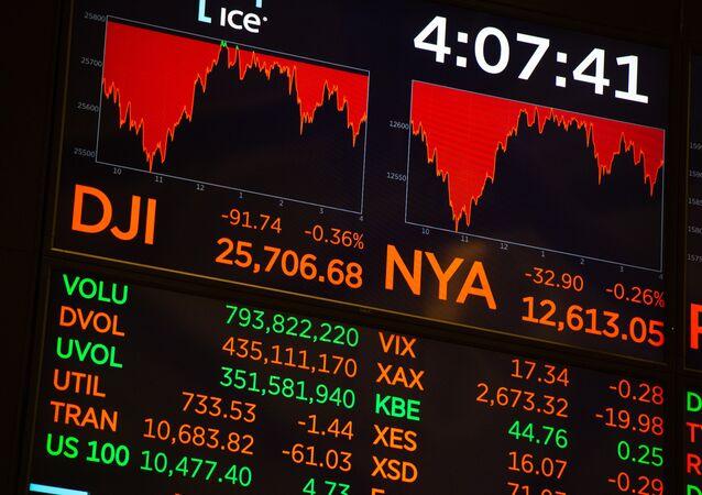 Bolsa de valores de Nova York, 17 de outubro 2018