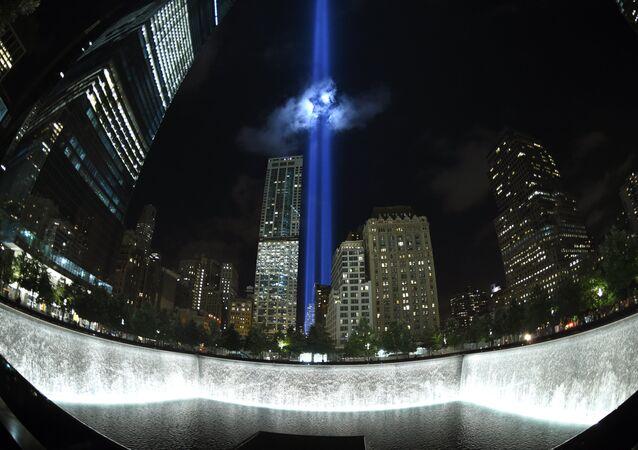 Memorial da tragédia de 9/11 em Nova York