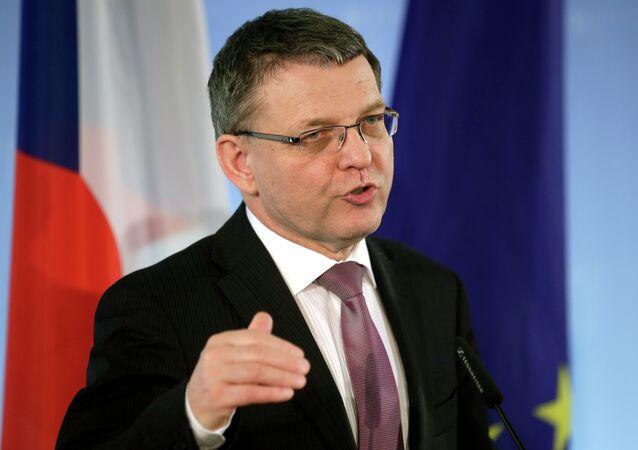 Lubomir Zaoralek, Ministro das Relações Exteriores da República Tcheca.