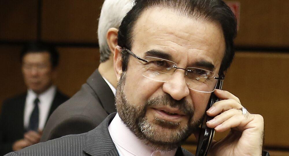 Reza Najafi, representante oficial do Irã nas negociações com o sexteto