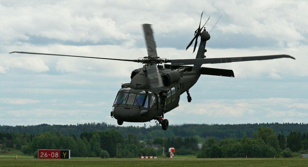 Helicóptero Sikorsky S-70 Black Hawk