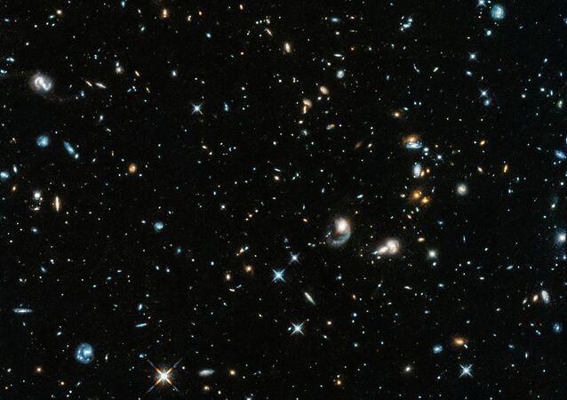 Imagem capturada pelo Observatório Orbital Hubble