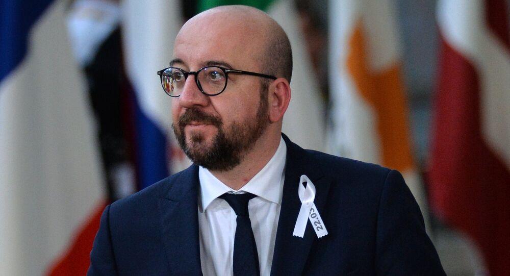 Charles Michel, primeiro-ministro da Bélgica