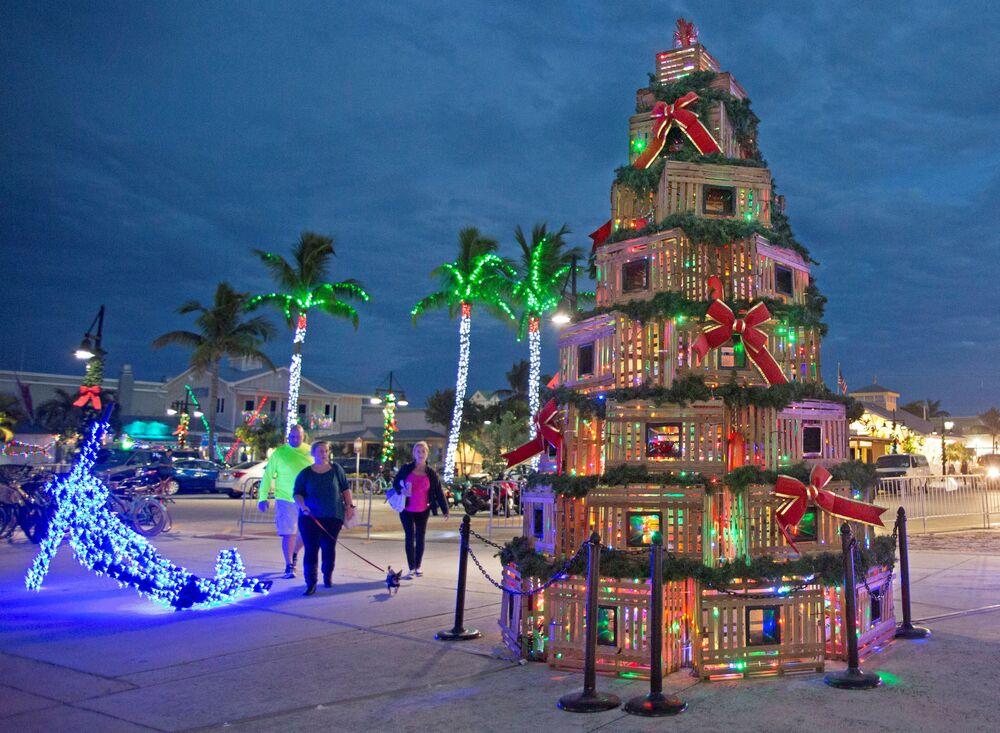 Árvore de Natal na Flórida