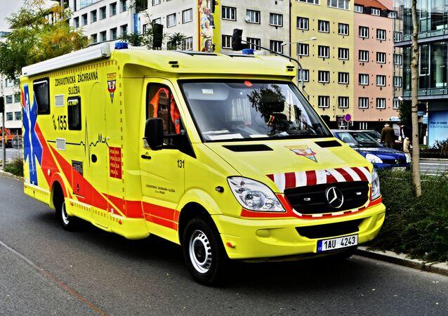 Ambulância na República Tcheca