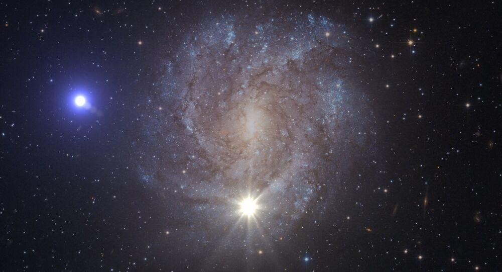 Estrelas no espaço (imagem ilustrativa)