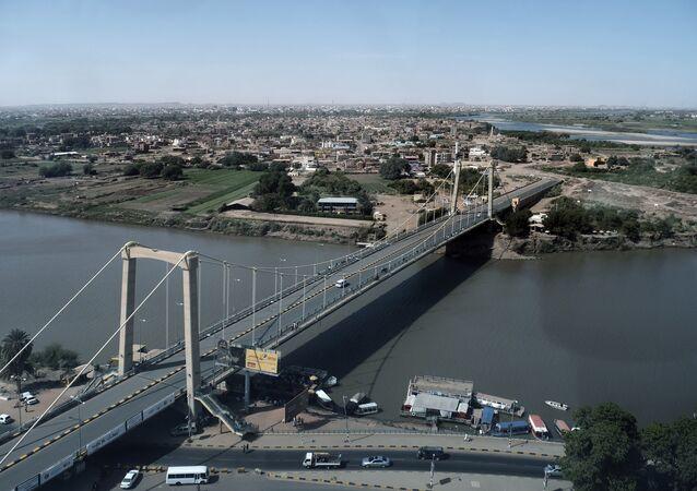 Cartum, capital do Sudão e segunda maior cidade do país