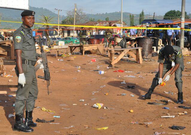 Polícia nigeriana