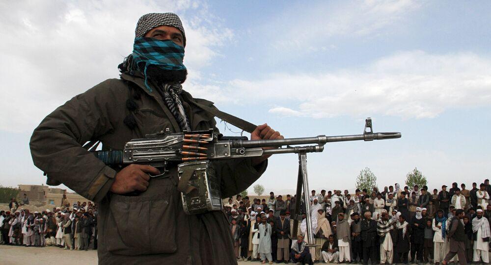 Membro do Talibã na província de Ghazni (arquivo)