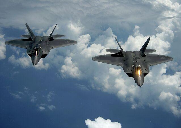 F-22 Raptor, da Força Aérea dos Estados Unidos
