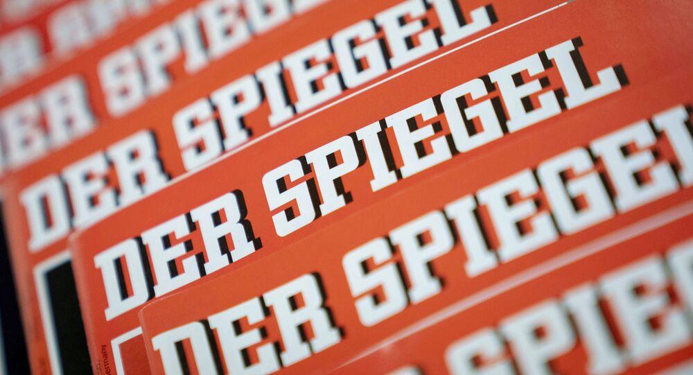 Capa da Der Spiegel em 19 de dezembro de 2018.