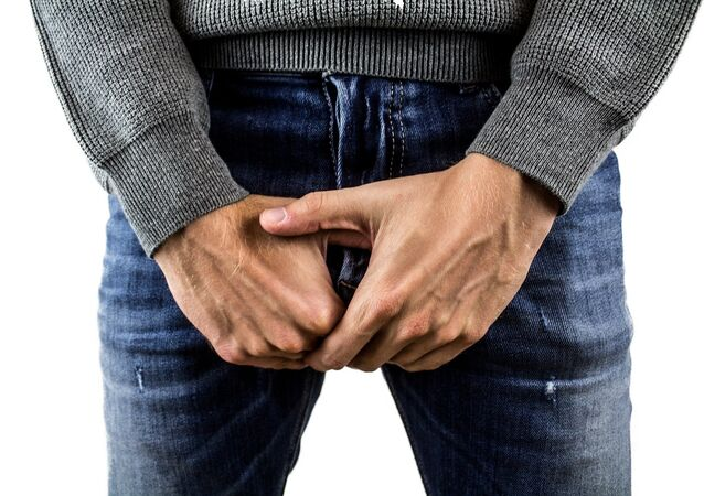 Calças masculinas (imagem ilustrativa)