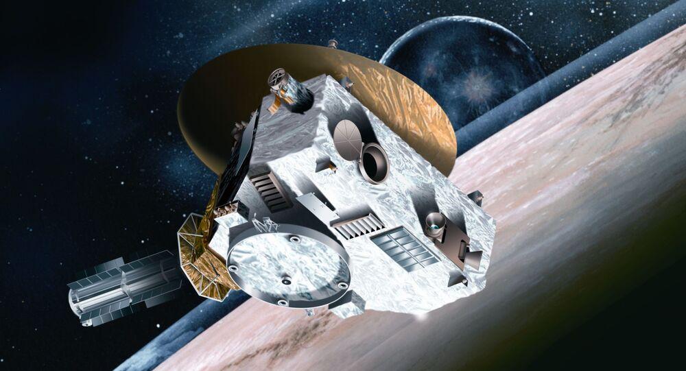 A sonda espacial norte-americana New Horizons (imagem ilustrativa)