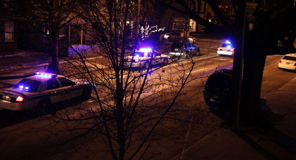 Polícia do estado norte-americano da Virgínia (arquivo)