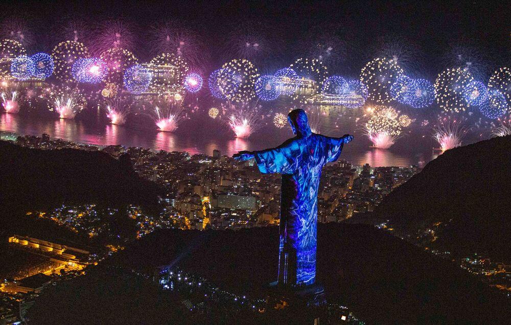 Celebração do Ano Novo no Rio de Janeiro