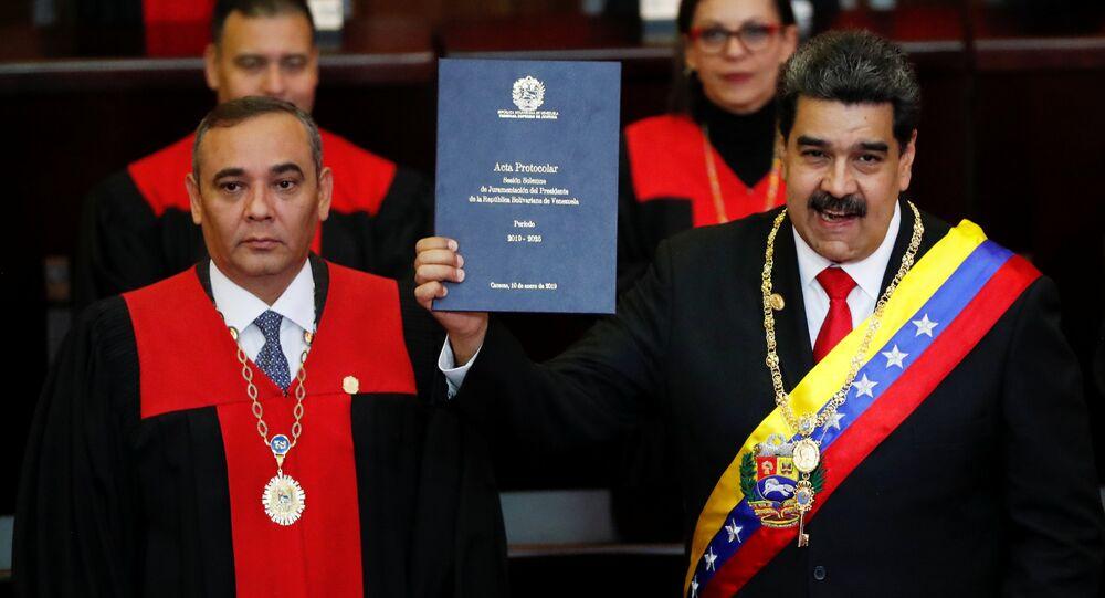 Nicolás Maduro, presidente de Venezuela, asume su segundo mandato