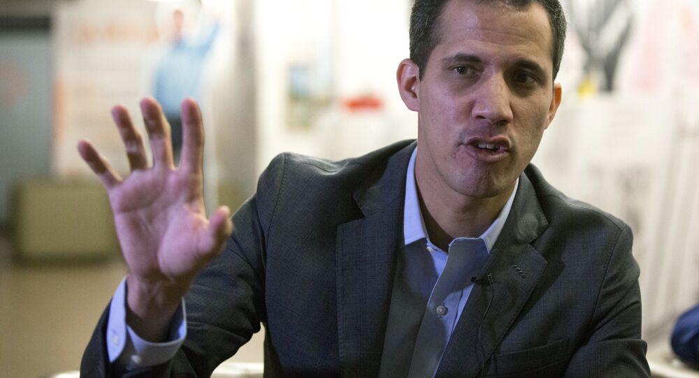 Juan Guaido, líder da oposição na Venezuela.