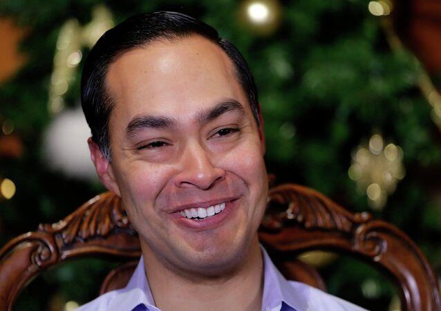 Julian Castro, presidenciável dos EUA.