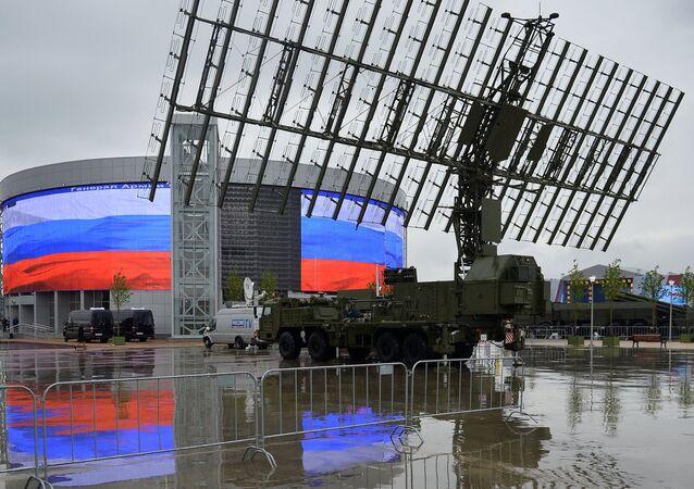 Cerimônia de abertura da exposição militar internacional Army 2015