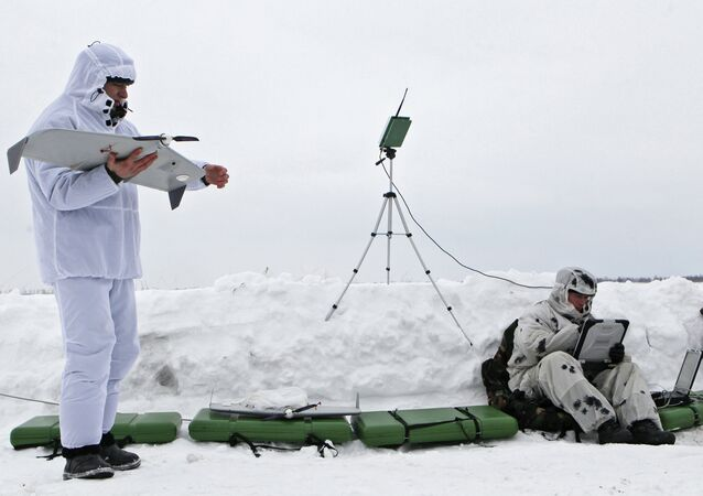 Exercise of airborne froces, Ryazan region