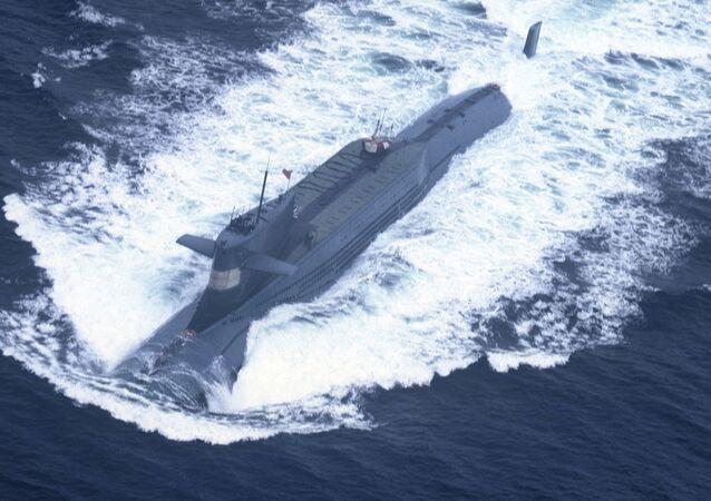 Submarino nuclear da China (imagem de arquivo)