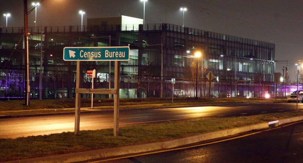 Escritório do Censo dos EUA. Foto de arquivo