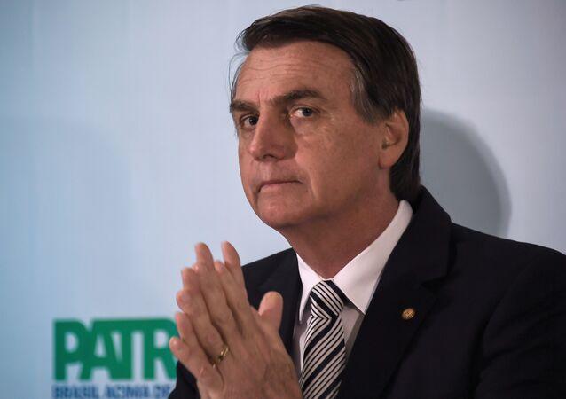 Jair Bolsonaro, diputado y exmilitar brasileño