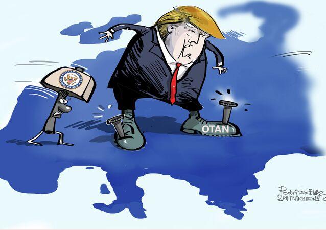 EUA não saem da OTAN