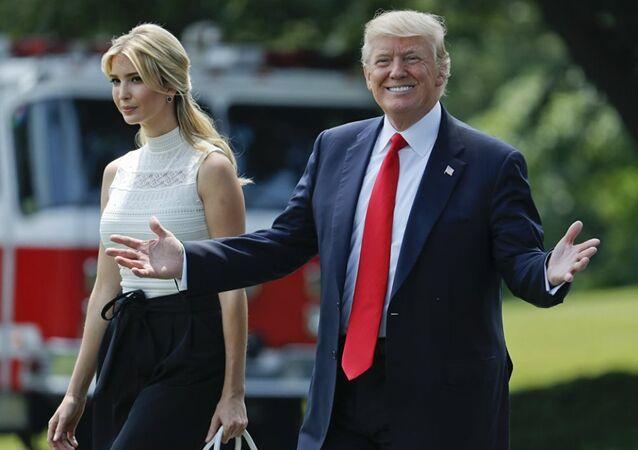 Donald Trump, Ivanka Trump,