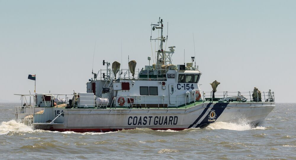 Guarda Costeira Indiana (imagem referencial)