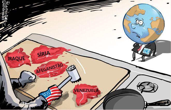 Melhor não se tornar 'alvo' dos EUA