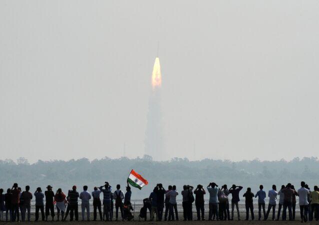 Lançamento de foguete indiano (foto de arquivo)