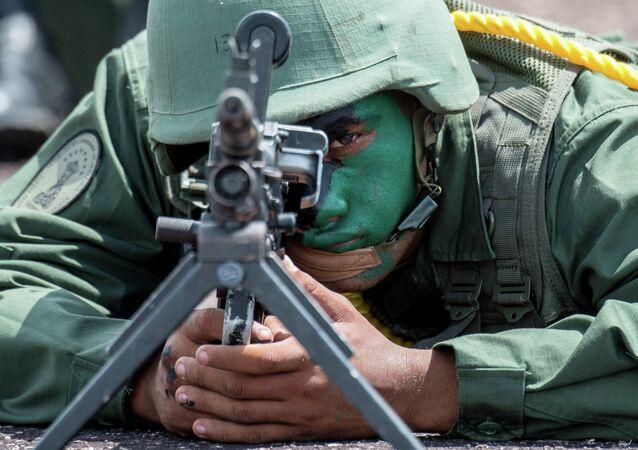 Soldado venezuelano