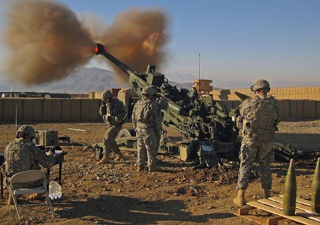Obuseiro norte-americano M777 (imagem de referencia)