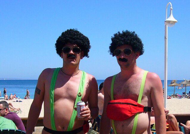 Turistas em Ibiza