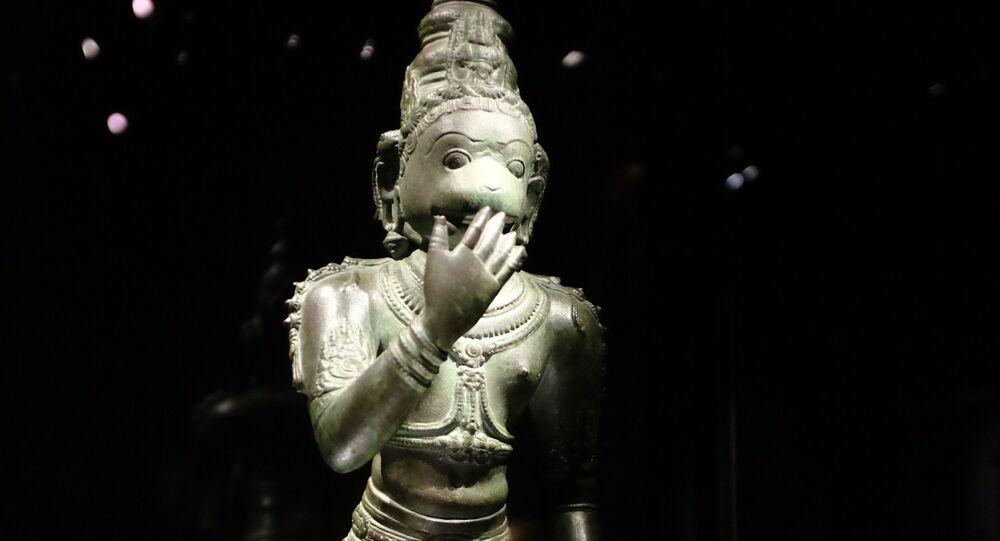 Estátua de Hanuman (imagem referencial)