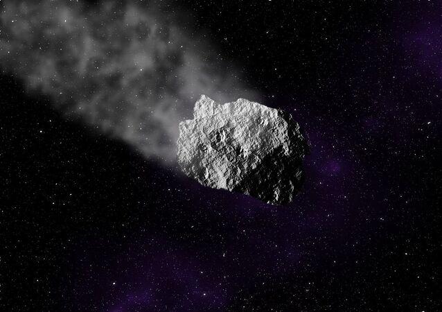 Meteorito (imagem referencial)