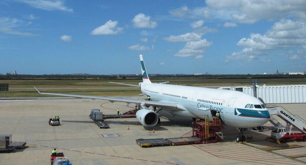 Aeroporto de Brisbane em Austrália (foto de arquivo)