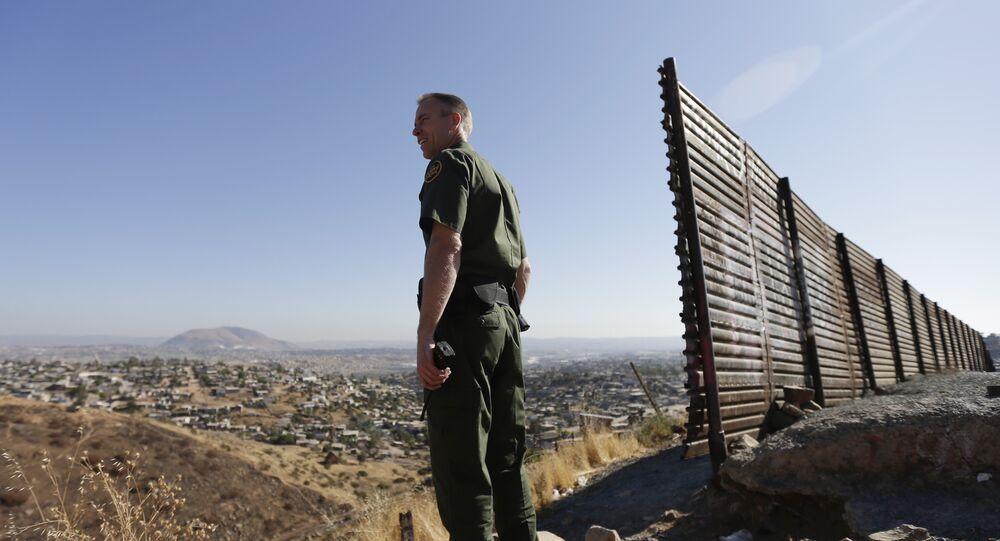 Agente de patrulha de fronteira dos EUA