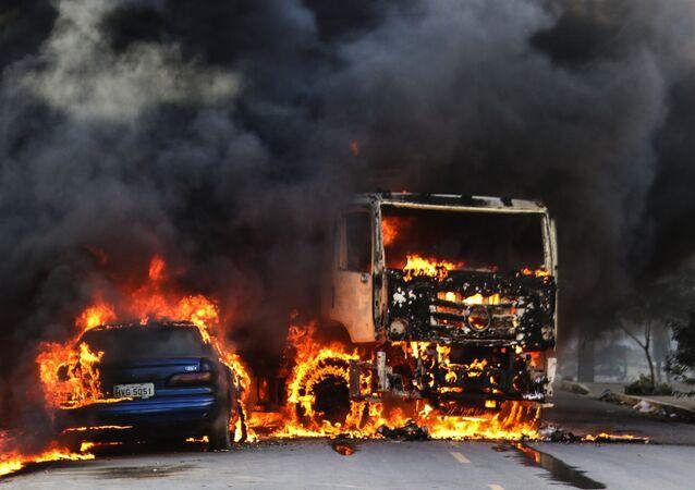 Ataques causaram pânico e destruição ao longo de janeiro no Ceará