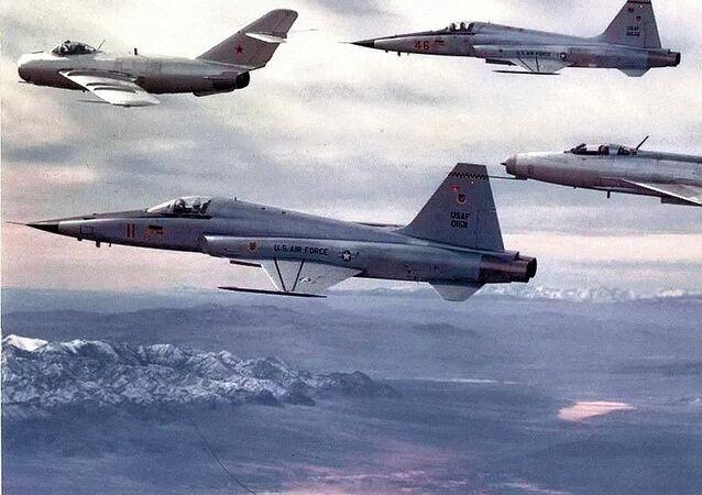 Aeronaves da esquadrilha de avaliação tática 4477