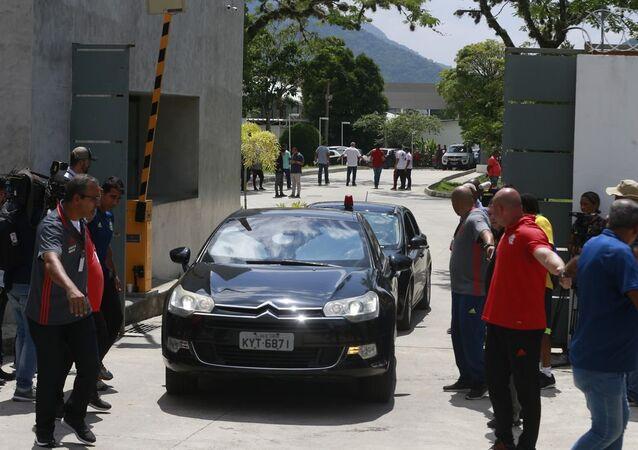 CT do Flamengo, o Ninho do Urubu